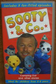 Sooty and Co camping out and other stories