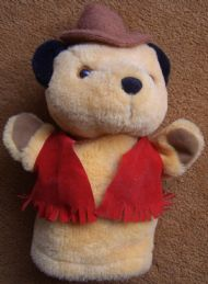 Sooty Cowboy Hand Puppet