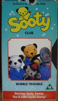Sooty Club Bubble Trouble