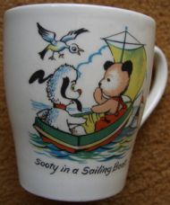 Sooty in a Sailing Boat