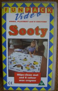 Sooty Video and Playmat etc