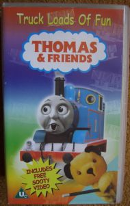 Thomas and Friends with a free Sooty Video