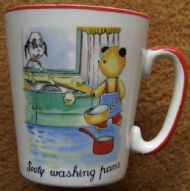 Sooty Washing Pans