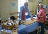 Gordon explains the process of bread making