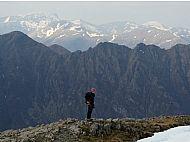 Descending from Stob Coire nan Lochan