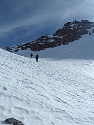 Descending to the Neltner Refuge - High Atlas Mountains