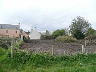 Vie of the allotments from the East