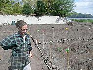 Barbel surveying the plots