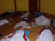 savasana is practised at the end of each class