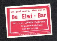 De Elwi Bar in Geldrop