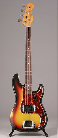 Ben's all time favourite: zijn Fender Precision Bass