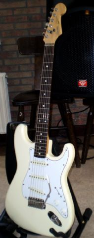 Peter's Squier Stratocaster