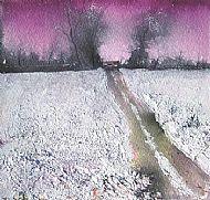 Carmine sky - frosty tingle