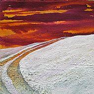 Snowy moors