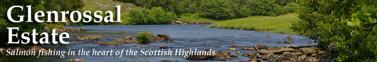 Glenrossal Estate – Salmon fishing in the  Scottish Highlands