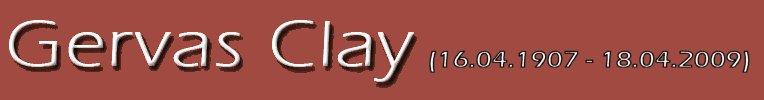 Gervas Clay