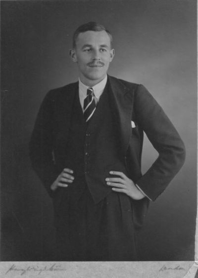 engagement photograph of gervas, august 1936