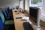 interior of the classroom