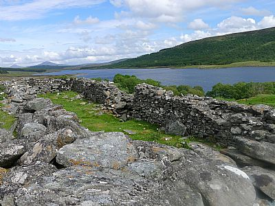 burial ground, according to local tradition, of the aberach mackays, in strathnaver.