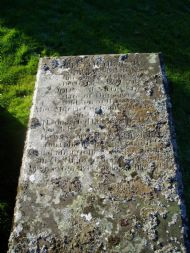 John Munro's gravestone