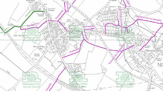 footpaths in and around plumtree