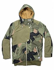 CLWR Poise Camo Snowboard Jacket