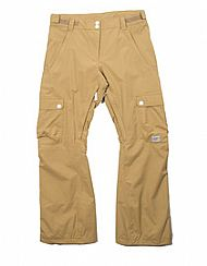 CLWR WTTR Camel Snowboard Pants