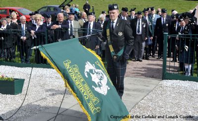 cameronian sunday 2009 - copyright of the carluke and lanark gazette picture by lindsay addison