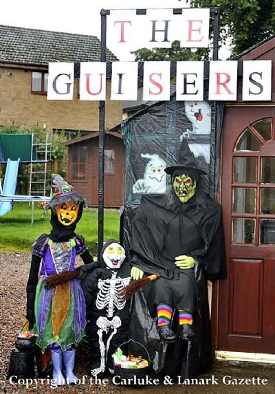 morrison's scarecrow - copyright of the carluke & lanark gazette