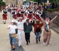 Village People at the head of this years parade