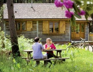 find eco-friendly log cabins in the uk