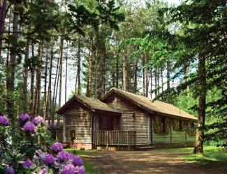 getaway on the log cabin weekend breaks