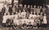 Uppertown School,Ashover 1928