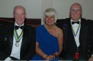 District Governor Nominee Robin & Margaret with David Adam