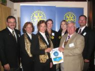 HOWE ROTARY CLUB WELCOMES PHOENIX GROUP STUDY EXCHANGE TEAM