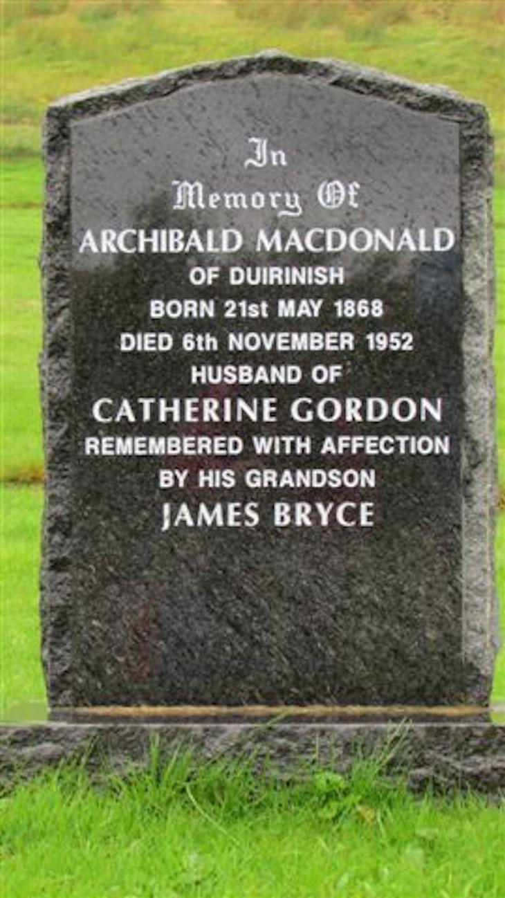 Archibald Macdonald