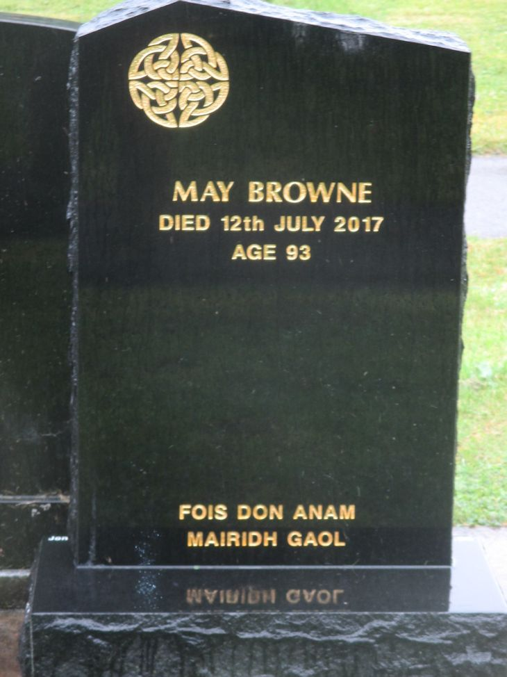 May Browne.