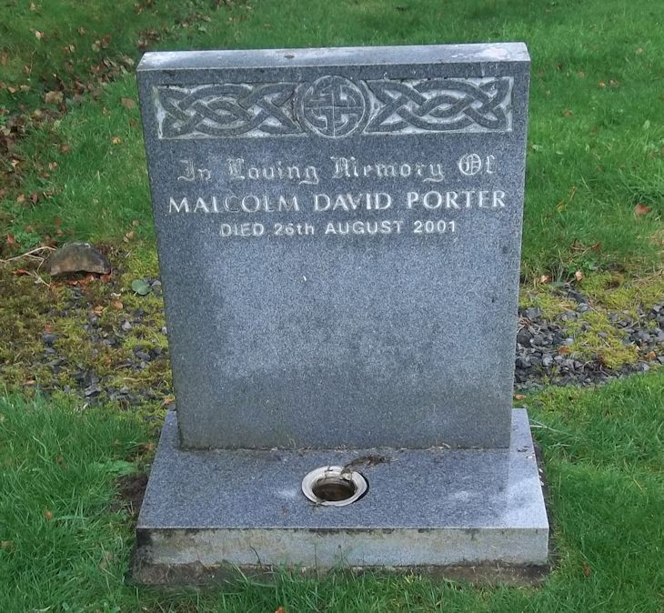 Malcolm David Porter.